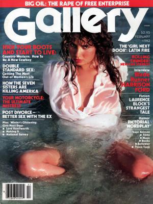 Gallery Magazine - February 1982