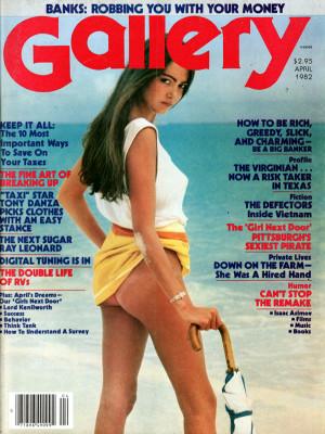Gallery Magazine - April 1982