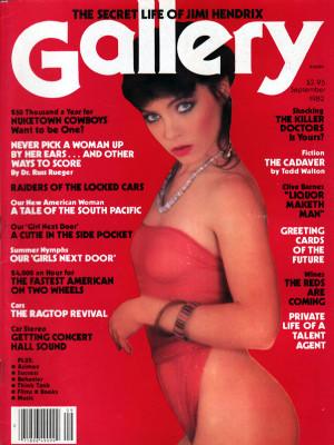 Gallery Magazine - September 1982