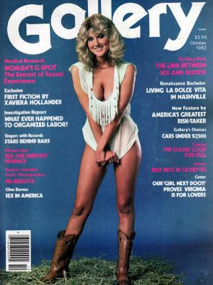 Gallery Magazine - October 1982