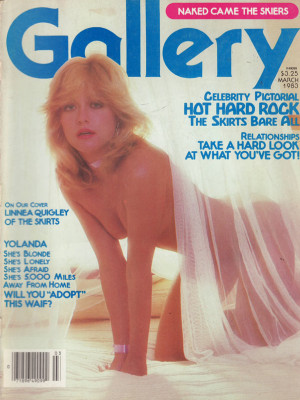 Gallery Magazine - March 1983