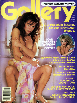 Gallery Magazine - July 1983