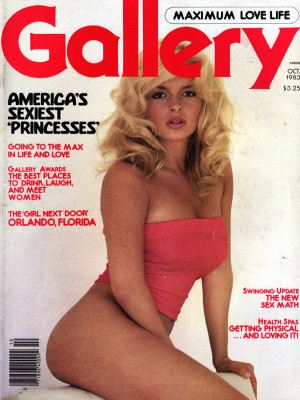 Gallery Magazine - October 1983