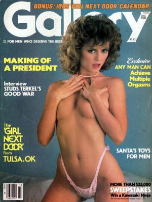 Gallery Magazine - December 1984