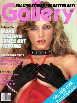 Gallery Magazine - February 1985