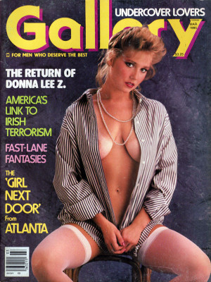 Gallery Magazine - March 1985