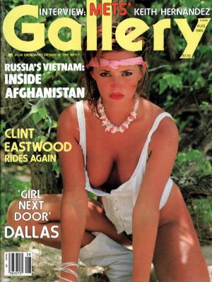 Gallery Magazine - August 1985
