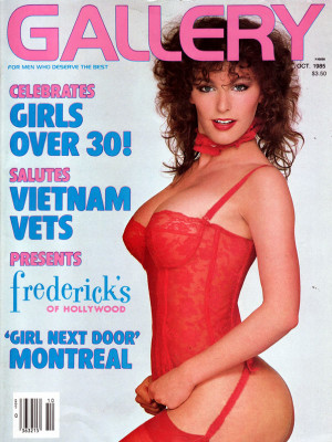 Gallery Magazine - October 1985
