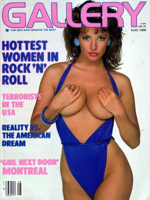 Gallery Magazine - August 1986