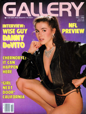 Gallery Magazine - October 1986
