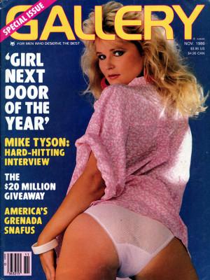 Gallery Magazine - November 1986