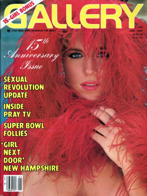 Gallery Magazine - January 1987