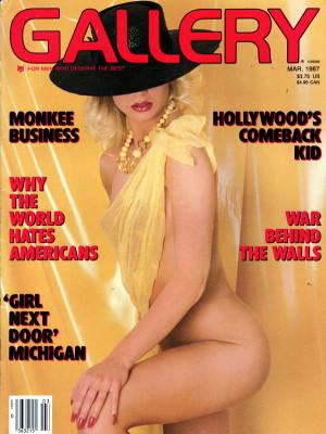 Gallery Magazine - March 1987