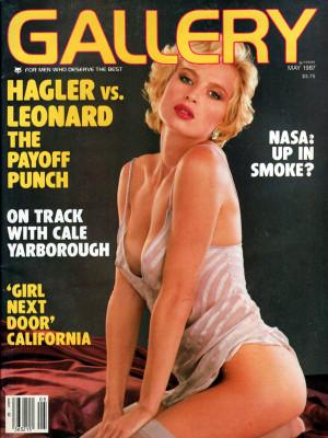 Gallery Magazine - May 1987