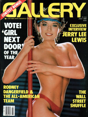 Gallery Magazine - July 1987