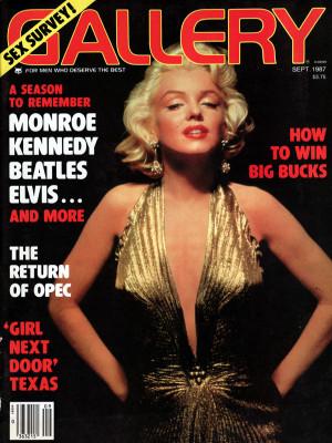 Gallery Magazine - September 1987