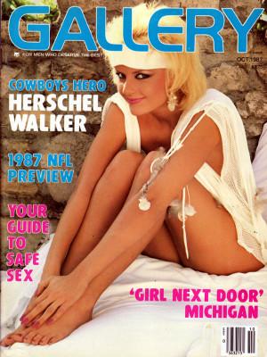 Gallery Magazine - October 1987