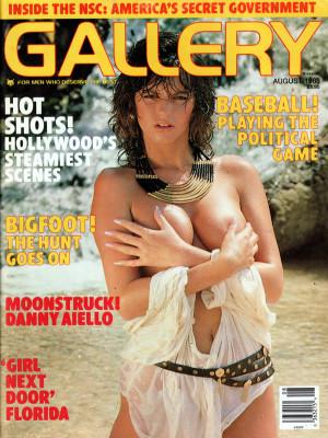 Gallery Magazine - August 1988