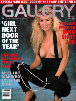 Gallery Magazine - November 1988