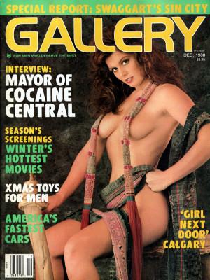 Gallery Magazine - December 1988