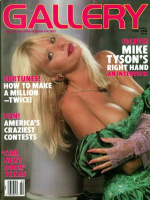 Gallery Magazine - February 1989