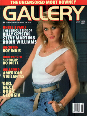 Gallery Magazine - March 1989