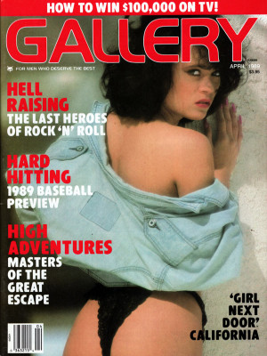 Gallery Magazine - April 1989