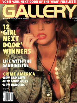 Gallery Magazine - July 1989