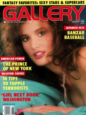 Gallery Magazine - August 1989