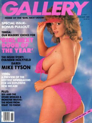 Gallery Magazine - November 1989