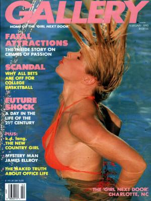 Gallery Magazine - February 1990