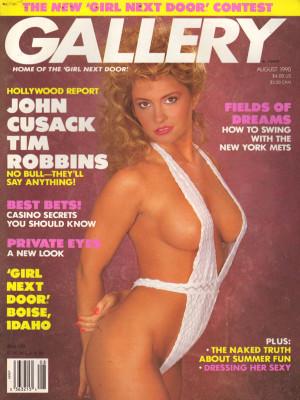 Gallery Magazine - August 1990