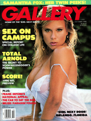 Gallery Magazine - October 1990