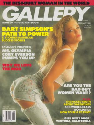 Gallery Magazine - February 1991