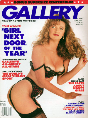 Gallery Magazine - April 1991