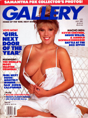 Gallery Magazine - July 1991