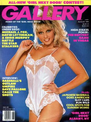 Gallery Magazine - August 1991