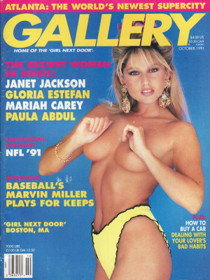 Gallery Magazine - October 1991