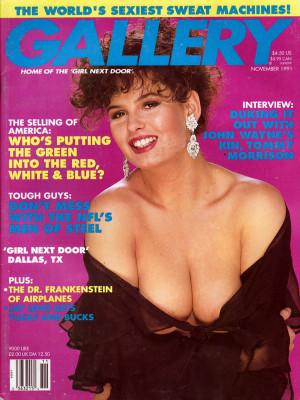 Gallery Magazine - November 1991
