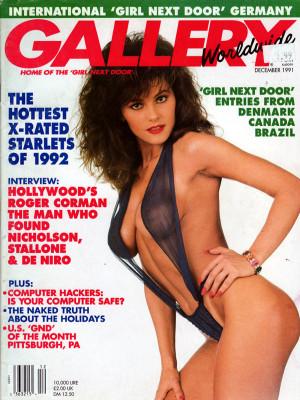 Gallery Magazine - December 1991 I