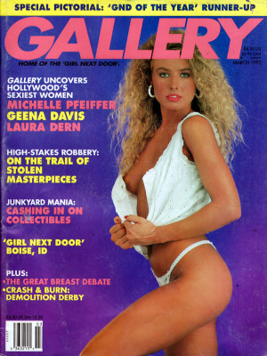Gallery Magazine - March 1992