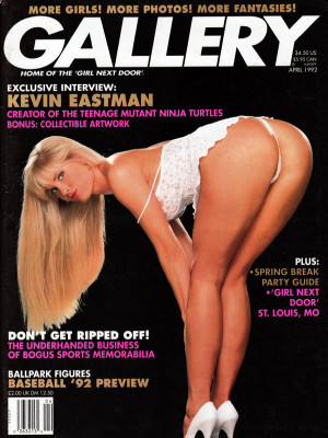 Gallery Magazine - April 1992
