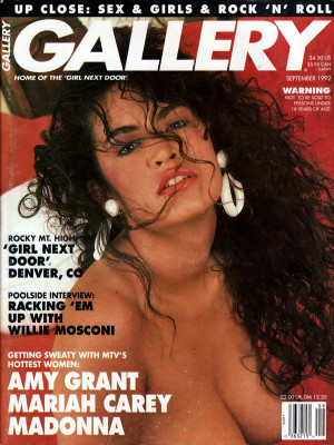Gallery Magazine - September 1992