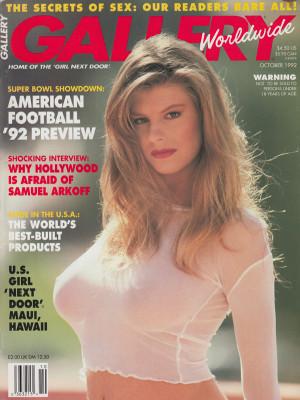 Gallery Magazine - October 1992