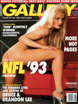 Gallery Magazine - October 1993
