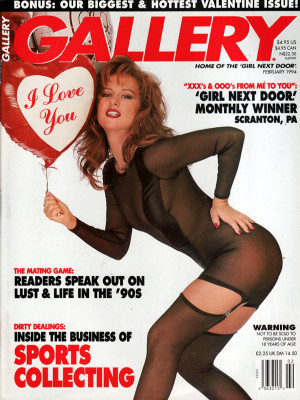 Gallery Magazine - February 1994