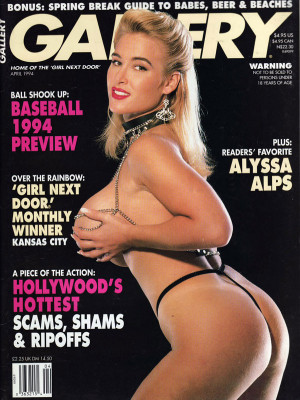 Gallery Magazine - April 1994