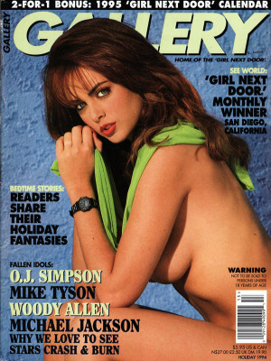 Gallery Magazine - Holiday 1994