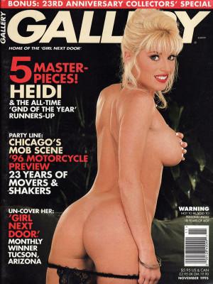 Gallery Magazine - November 1995