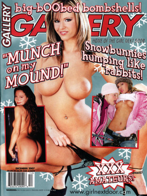 Gallery Magazine - December 2007